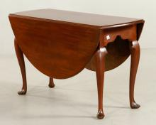 Queen Anne Federal Drop Leaf Table