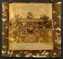 19th C. Japanese Embroidered Textile