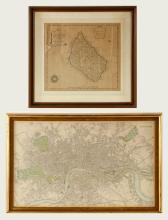 Two Framed Maps