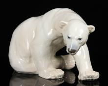 Royal Copenhagen Polar Bear Figure