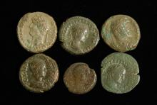 Lot of 6 Roman Coins