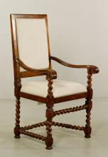 William and Mary Armchair