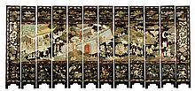 17th C. Chinese Coromandel Screen
