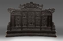 Chinese Throne Screen