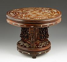19th C. Chinese Miniature Table