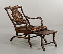 19th C. Chinese Chaise