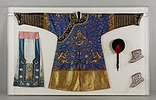 Chinese Robe and Accessories