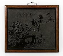 19th C. Chinese Stone Panel