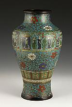 19th C. Chinese Cloisonné Vase