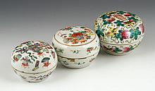 3 19th C. Chinese Jars
