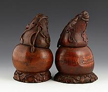 19th C. Chinese Bamboo Vessels