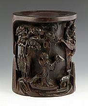 18th C. Chinese Brush Pot