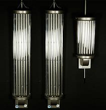 Three Art Deco Sconces
