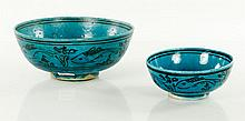 Two Persian Pottery Bowls