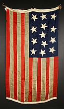 Early American Centennial Flag