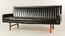 Baughman Vinyl Sofa