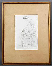 Walkowitz, Mother and Child, Lithograph
