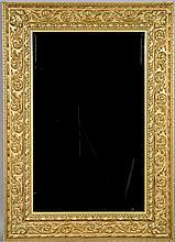 Continental Style Gilt Wood Mirror