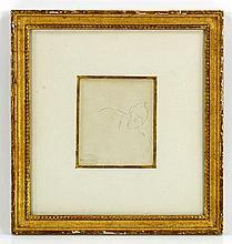 Cassatt, Portrait of a Woman, Pencil Drawing