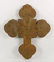 Spanish Embossed Cross