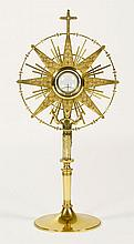Adrian Hamers Monstrance depicting St. Francis of Assisi