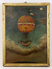 Lirot, Balloon in Flight, O/AB