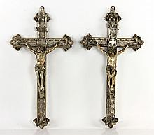 Pair of Crucifixes