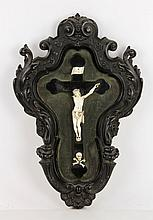 19th C. Italian Carved Crucifix