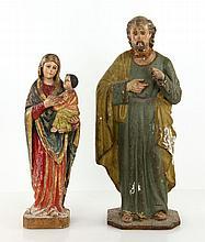 Lot of 2 Antique  Figures