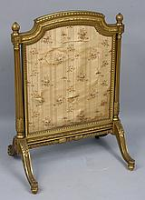 19th C. Adams-style Giltwood Fireplace Screen