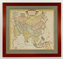 Hand Colored French Map,