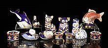 11 Royal Crown Derby Pieces