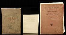 Lot of 3 Folio Books