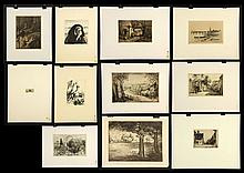 11 Lithographs and Etchings