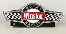 Winston Racing Nation Cup Sign