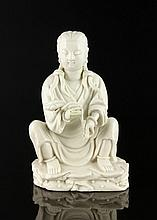 18th/19th C. Chinese Blanc de Chine Figure