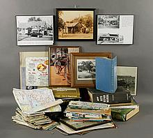 Vintage Road Maps, Manuals, Etc.