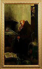 After Pyle, Portrait of Roger Bacon, O/C