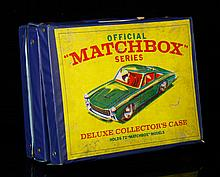 Official Matchbox Collectors Case with Cars and Trucks