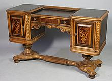 Early 20th C. Inlaid Vanity