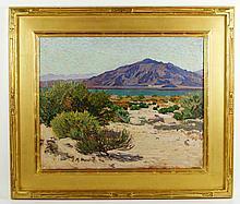 Marshall, Mountain Landscape, O/C