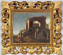 17th/18th C. Italian Genre Scene, O/C