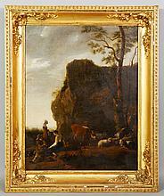 18th/19th C. Dutch Genre Scene, O/C