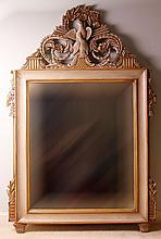 Louis XV Style Over Mantel Mirror