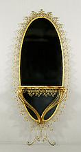 French Pier Mirror with Tray