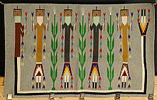 20th Century Native American Ye'i Weaving