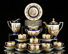 Royal Vienna Dessert Set