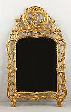 19th C. Style French Gilt Wood Mirror