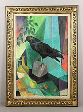 Dampier, Still Life with Raven, O/B