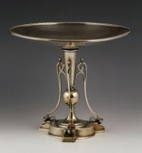 19th C. Tiffany Sterling Silver Compote